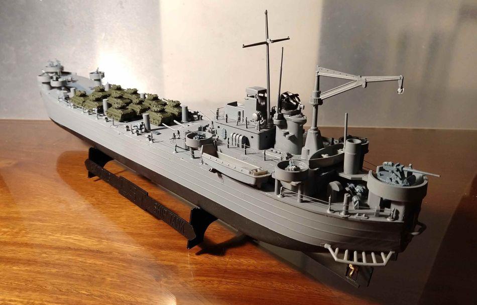 Battle ship model
